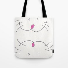 A MOUSE WITH SLIPPERS ON ITS FEET. Tote Bag