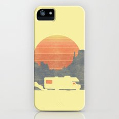 Trail of the dusty road iPhone SE Slim Case