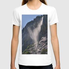 The Ghost. Lauterbrunnen Waterfalls. Alps. Switzerland T-shirt