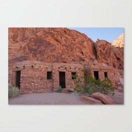 CCC Cabins-1, Valley of Fire State Park, Nevada Canvas Print