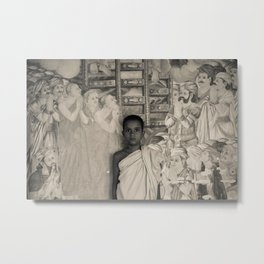 Young Monk Metal Print
