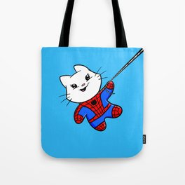 Spiderkitty! Tote Bag