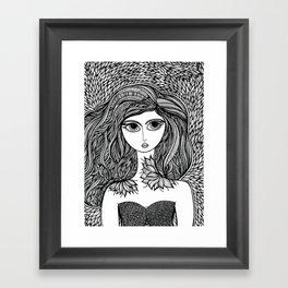 Lucille Framed Art Print