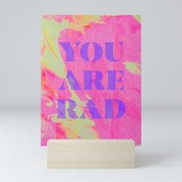 Rad Mini Art Print