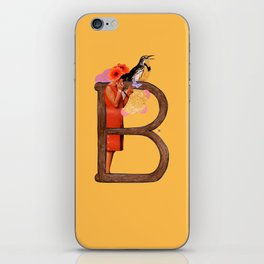 """A TO Z - """"B"""" iPhone Skin"""