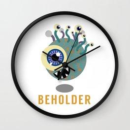 Beholder! Wall Clock