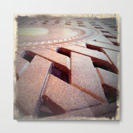Star Table Metal Print