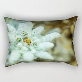 The Heart of Pirin - Leontopodium alpinum Rectangular Pillow