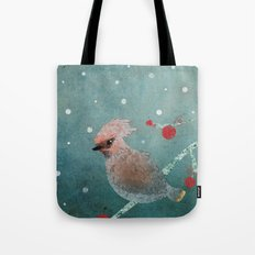 Tweet in the Snow Tote Bag