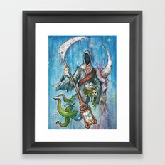 The reaper Framed Art Print