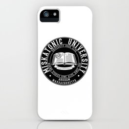 Miskatonic iPhone Case