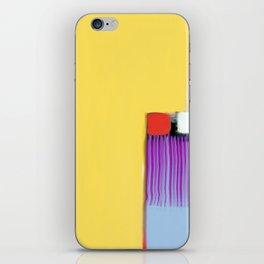 Blue Strings iPhone Skin