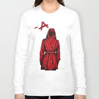 "pretty little liars Long Sleeve T-shirts featuring Pretty Little Liars - ""Red Coat"" 