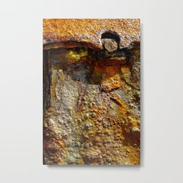 meEtIng wiTh IrOn no28 Metal Print
