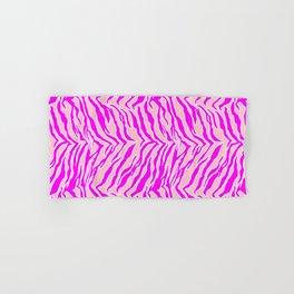 Tiger Print - Pink & Pink Hand & Bath Towel