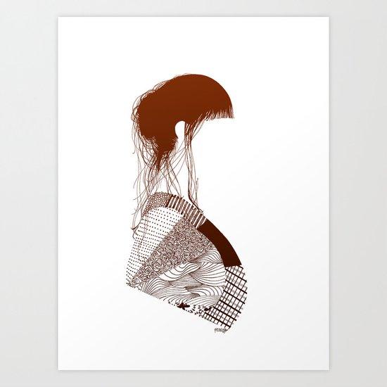 Retalhos  Art Print