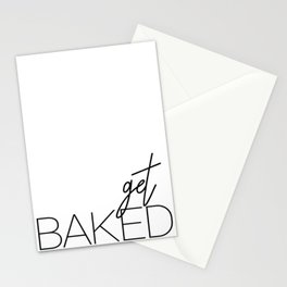 Get Baked Stationery Cards