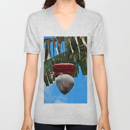 Hand-picked Treasure- vertical Unisex V-Neck