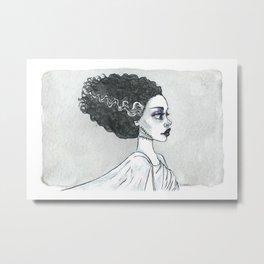 The (sweet) bride Metal Print