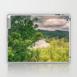 River Storm Clouds Laptop & iPad Skin