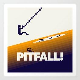 Pitfall Art Print