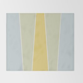 Soft Vintage Color Block Throw Blanket