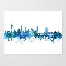 Zaragoza Spain Skyline Canvas Print