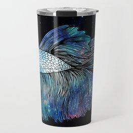 Betta Fish Galaxy Travel Mug