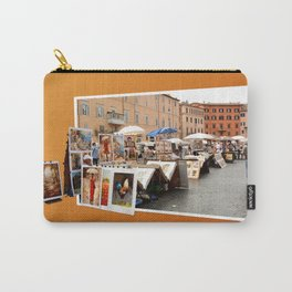 Piazza Navona in Rome Carry-All Pouch