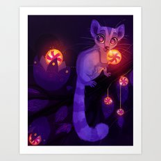 Sugarglider Art Print