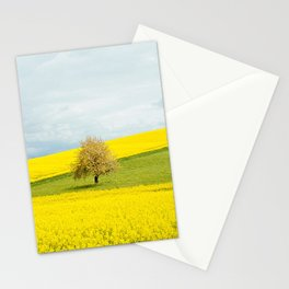 One Tree Hill landscape photograph Stationery Cards