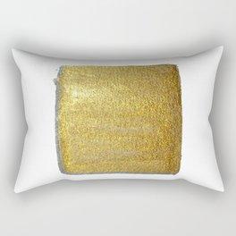Golden Sun of the Mayas Rectangular Pillow