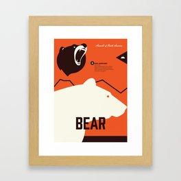 Wildlife of North America: Bear Framed Art Print
