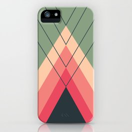 Iglu Rosegreen iPhone Case