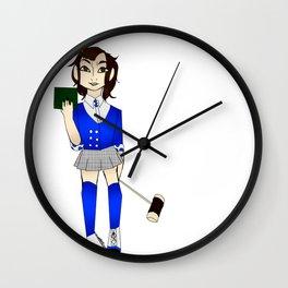 Veronica Baby Blue Wall Clock