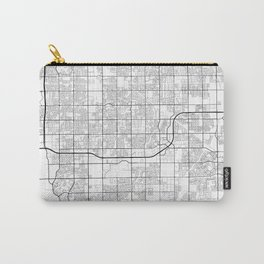 Minimal City Maps - Map Of Gilbert, Arizona, United States Carry-All Pouch