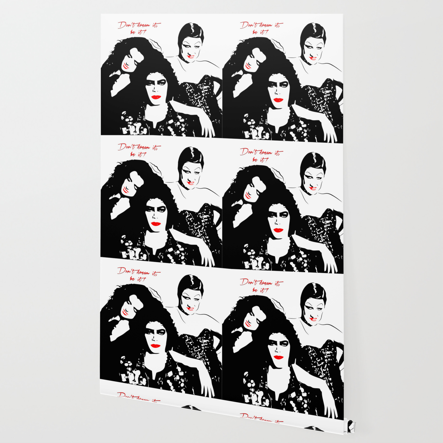 The Rocky Horror Picture Show Dont Dream It Be It Pop Art Wallpaper
