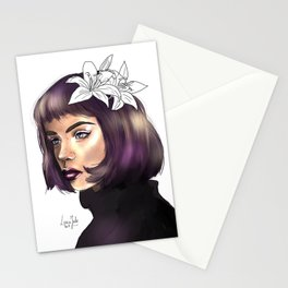 Pansy Parkinson (HP) Stationery Cards