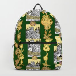 The Empress - A Floral Tarot Print Backpack