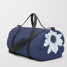 Good Night, Sleepy African Daisy Flower Duffle Bag