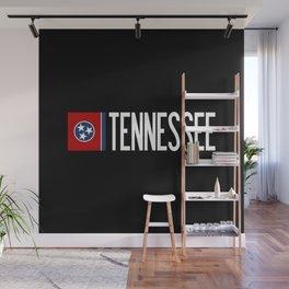Tennessee: Tennessean Flag Wall Mural