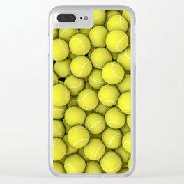 Tennis balls Clear iPhone Case