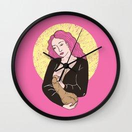 Breastfeed Wall Clock