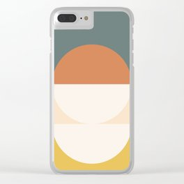Abstract 02 Clear iPhone Case
