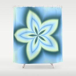 String Art Flower in MWY 01 Shower Curtain