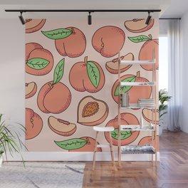Peachy Wall Mural