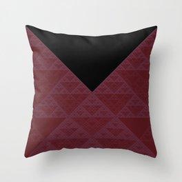 a+b+c+ac+abc (mod 4) (plum) Throw Pillow