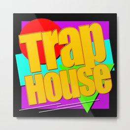 Trap House Square Logo Metal Print