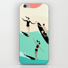 Party Wave iPhone Skin