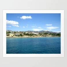 Cyprus Beach Art Print